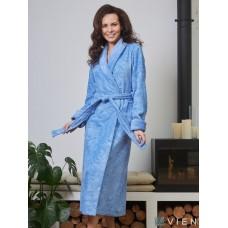 Бамбуковый женский халат Belinda (EFW) (фиалка)