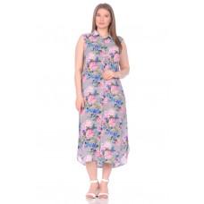 Платье - туника из вискозы Sunrise (PM France 221) (сирень)