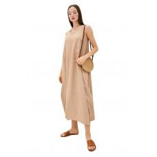 Платье из льна и вискозы Be Free (PM France 229) (капучино)