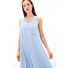 Платье из льна и вискозы Be Free (PM France 229) (голубой)