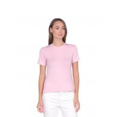 Футболка женская из хлопка De Base (PM France 233) (розовый)