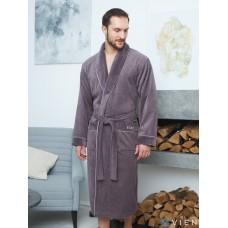 Махровый халат из бамбука Mark II (EFW EVA) (mokko)