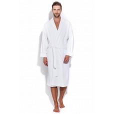 Белый банный халат Arctic White (Е 363/5) (белый)