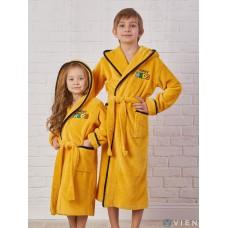 Детский махровый халат Happy Kids (EFW) (sun)