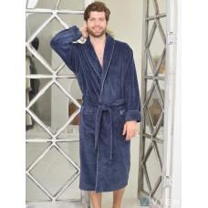 Бамбуковый халат Hermes (EFW) (denim)