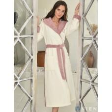 Бамбуковый халат Arianna (EFW) (пудра)