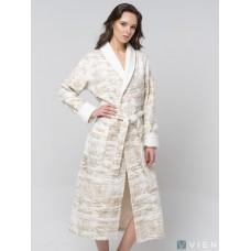 Бамбуковый халат Cleopatra (EFW) (крем)