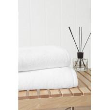 Банное махровое полотенце Miracle 550 гр 70х140 (PM 2404) (белый)