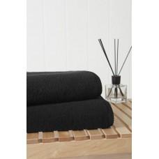 Банное махровое полотенце Miracle 550 гр 70х140 (PM 2404) (черный)