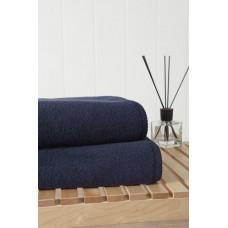 Банное махровое полотенце Miracle 550 гр 70х140 (PM 2404) (темно-синий)