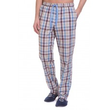 Домашние брюки VIKING № 002 (PM 2140/3) (бежевая и голубая клетка)
