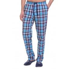 Домашние брюки VIKING №002 (PM France 2135/5) (голубая клетка)