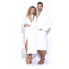Белый банный халат Arctic White унисекс (Е 363/5) (белый)