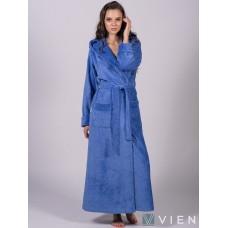 Бамбуковый женский халат Jessamina (EFW) (фиалка)