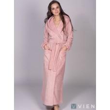 Бамбуковый женский халат Jessamina (EFW) (пудра)