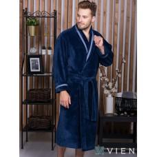 Бамбуковый халат Baron (EFW) (джинс)