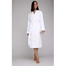 Махровый халат Snow White Discount (E 703) (белый)