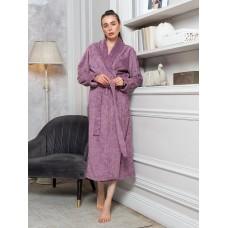 Бамбуковый халат Emily (EFW) (черничный)
