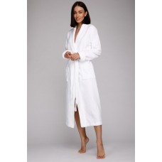 Бамбуковый махровый халат NATUREL Discount (PM 908) (белый)