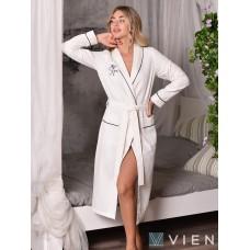 Вафельный халат Vien Spa (EFW) (крем)
