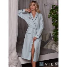 Вафельный халат Vien Spa (EFW) (мята)