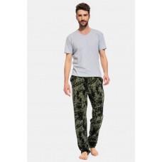 Домашние трикотажные брюки Graphiste (PM France 040) (хаки)