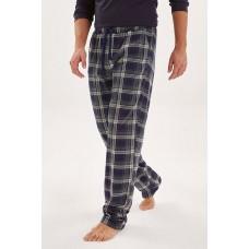 Домашние трикотажные брюки Soul (E № 021) (синий/зеленый)