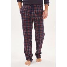 Домашние трикотажные брюки Soul (E № 021) (синий/красный)