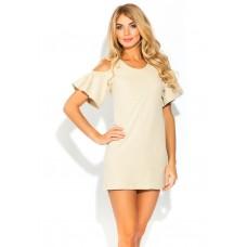 Платье - туника AZALEA (PM 1437) (кремовый меланж)