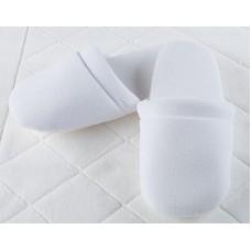 Велюровые тапочки подошва Soft Small (EVA 100-5-36) (белый)