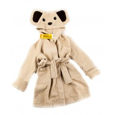 Детский махровый халат Funny Mouse (PM France 5) (бежевый)