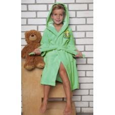 """Детский банный халат из бамбука \""""Малыш\"""" (EFW) (салатовый)"""