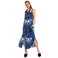 Платье - туника из вискозы Sunrise (PM France 221) (синий)
