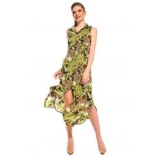 Платье-туника из вискозы Sunrise (PM France 221) (зеленый)
