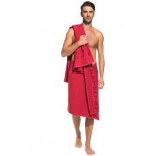 Банное махровое полотенце Black Jack 70x140 (PM France) (красный)