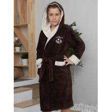 Подростковый бамбуковый халат Ronaldo (EFW) (Mocaccino)